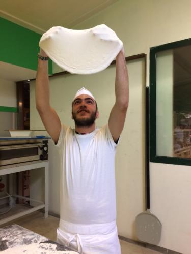 Stesura pizza